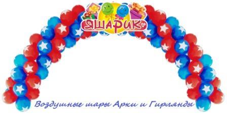 Гирлянды и Арки из воздушных шаров Екатеринбург, Верхняя Пышма, Первоуральск, Нижний Тагил.