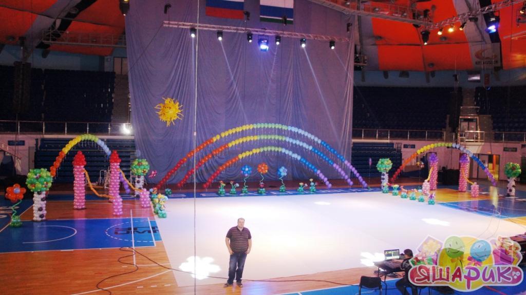 Воздушные шары для спортивных праздников