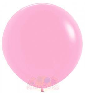 Гигантский воздушный шар розовый