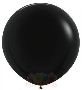 Гигантский воздушный шар чёрный