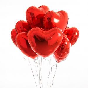 Сет из девяти красных Сердец.