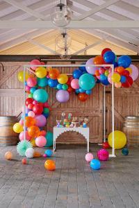 Гирлянда из воздушных шариков Organic for photo zone