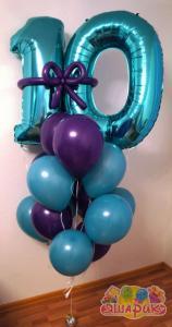 Сет из воздушных шаров Tiffany ten