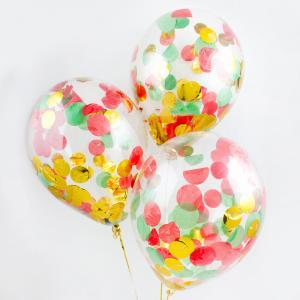 Воздушный шар конфетти