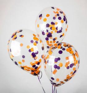 Воздушный шар конфетти Halloween