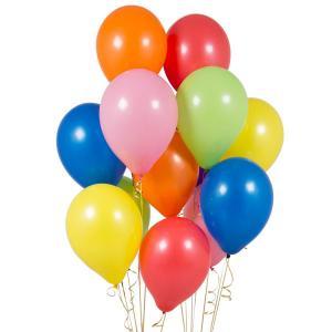 Разноцветный сет из воздушных шаров
