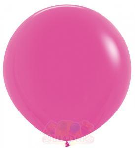 Гигантский воздушный шар фуксия