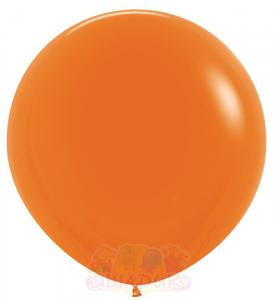 Большие оранжевые шары