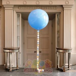 """Метровый шар """"гирлянда из кружков"""""""