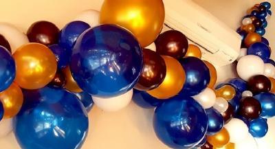 Гирлянда из воздушных шариков