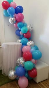 Гирлянда из воздушных шариков Organic confetti