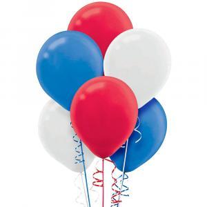 Сет из воздушных шаров Российский флаг.