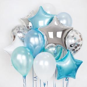 Сет из воздушных шаров Морская Нежность