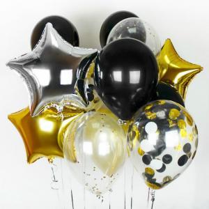 Сет из воздушных шаров Звездные Брызги