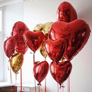 """Фото зона """"Красные Сердца"""""""