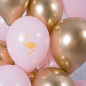Букет из воздушных шаров Розовый фламинго