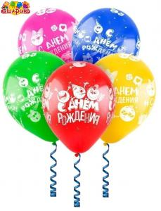 """Воздушные шары """" Смайлики """"."""