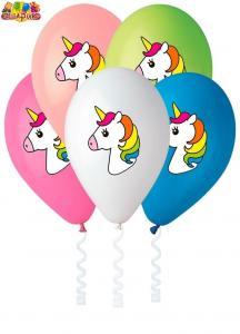 Воздушные шары День Рождения Единорог.
