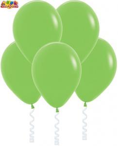 Воздушный шарик с гелием  Светло-зеленый.