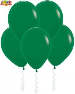 Воздушный шарик с гелием  Темно-зеленый.