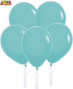 Воздушный шарик с гелием  Аквамарин.