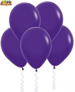 Воздушный шарик с гелием  Фиолетовый.