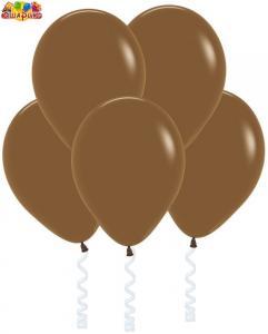 Воздушный шарик с гелием  Кофе.