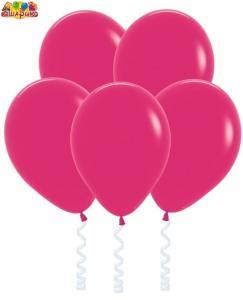 Воздушный шарик с гелием  Малиновый.