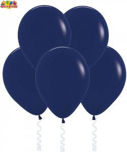 Воздушный шарик с гелием  Темно-синий.