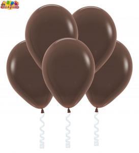 Воздушный шарик с гелием  Коричневый.