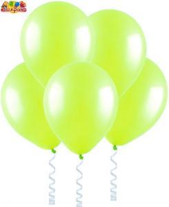 Воздушный шарик с гелием  Лайм.