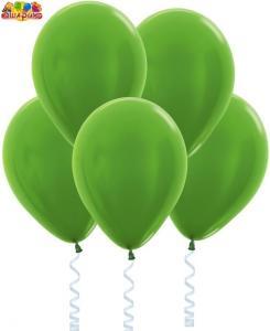 Воздушный шарик с гелием Метал  Светло-зеленый.