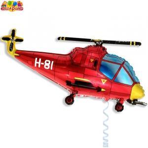 Воздушный шар с гелием Вертолет.