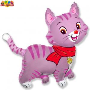 Воздушный шар с гелием  Кошки.