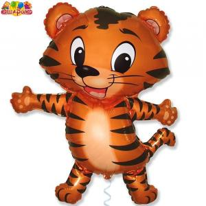Воздушный шар с гелием Тигрята.