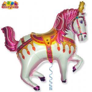 Воздушный шар с гелием Лошадь.