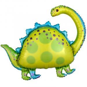 Воздушный шар с гелием  Бронтозавр.
