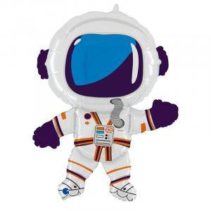 Воздушный шар с гелием Счастливый астронавт.