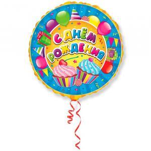 Воздушный шар c гелием Сладости.