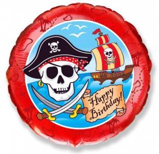 Воздушный шар c гелием Пираты.