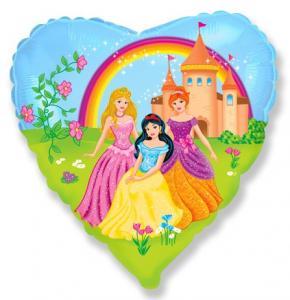 Воздушный шарик с гелием Замок принцессы.