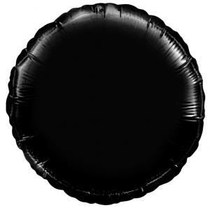 Воздушный шар Круг Чёрный.