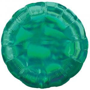 Воздушный шар Круг Зелёный Перламутр.