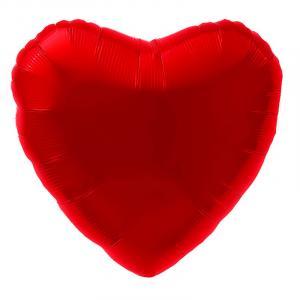 Воздушный шар Сердце Красный.