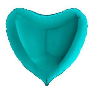 Воздушный шар Большое Сердце Тиффани.