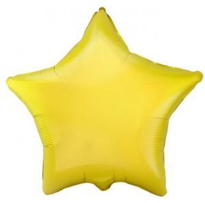 Воздушный шар Звезда Жёлтый.
