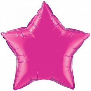 Воздушный шар Звезда Лиловый.