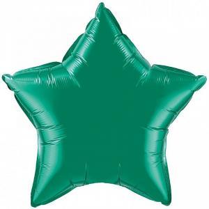 Воздушный шар Звезда Зеленый.