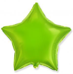 Воздушный шар Звезда Лайм.
