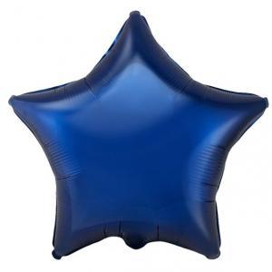 Воздушный шар Звезда Тёмно-синий.